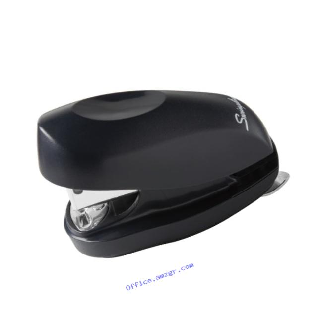 Swingline Tot Stapler with Built-In Staple Remover, Pre-Packed with 1000 Swingline Standard Staples, Black (S7079171)