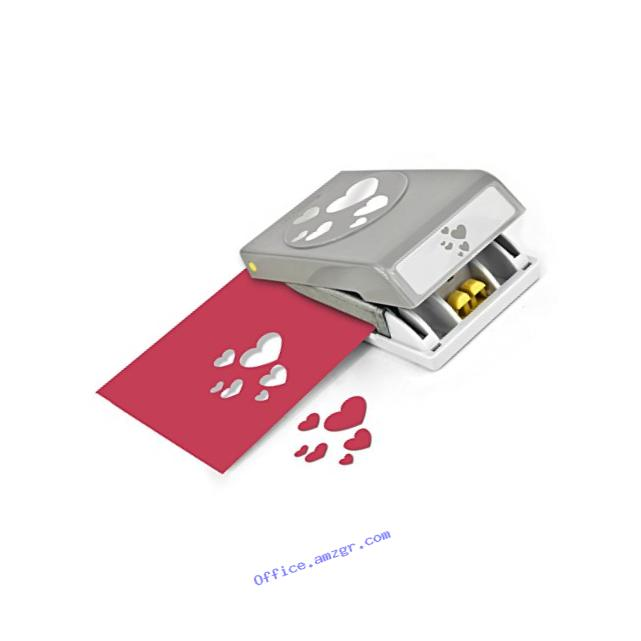 EK tools Confetti Hearts Punch